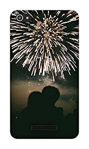 The Racoon Grip Fireworks of Love hard plastic printed back case / cover for Micromax Canvas Hue 2 A316