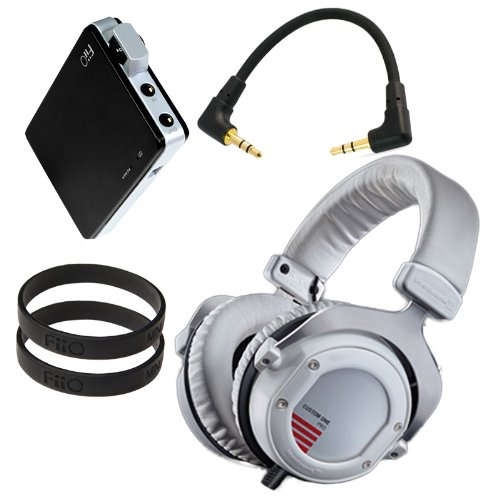 Beyerdynamic Custom One Pro (White) With Fiio E11 Professional Headphone Bundle