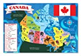 Melissa & Doug Canada Map Floor, 48 Pieces