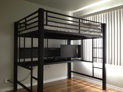 Coaster Workstation Loft Bed