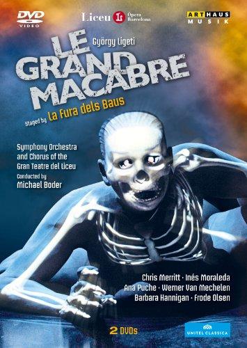Ligeti: Le Grande Macabre (Barcelona 2011) (Chris Merritt/ Inés Moraleda/ Ana Puche/ Gran Teatre Del Liceu/ La Fura Dels Baus/ Michael Boder) (Arthaus: 101643) [DVD] [NTSC]
