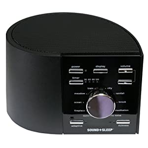Ecotones Sound + Sleep Machine, Model ASM1002