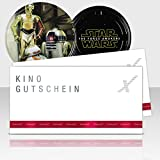 CinemaxX Star Wars Episode VII Filmdose Droids mit 2 Kinogutscheinen