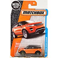 Evoque Matchbox 2016 Metal Series Orange Range Rover Evoque 1:64 Scale Collectible Die Cast Metal Toy Car Models...