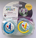 Philips Avent Fashion Soother Twin Pack 0-6m (Dinosaur)