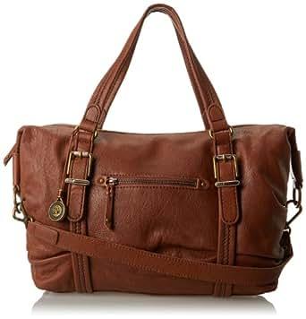 The SAK Silverlake Satchel Top Handle Bag, Tobacco, One Size: Handbags