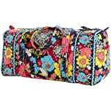 Vera Bradley Large Duffel in Happy Snails