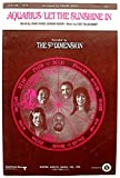 Aquarius / Let the Sunsine In S.A.T.B. Recorded by the 5th Dimension (476)