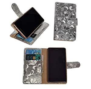 R&A Pu Leather Wallet Flip Case Cover With Card & ID Slots & Magnetic Closure For Xiaomi Redmi 2S