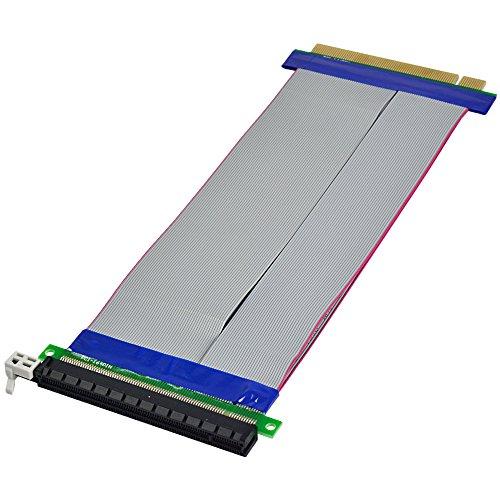 MENGS® PCI-E esprime cavo di alimentazione estensione della carta 16x riser - 244 millimetri