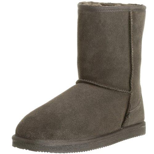 Staheekum Women's Mid Sheepskin Boot,Chocolate,8 M
