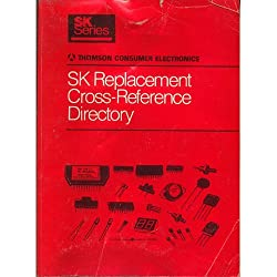 Original 1992 SK Series Thomson Consumer Electronics SK Replacement Cross-Reference No. SKG202G