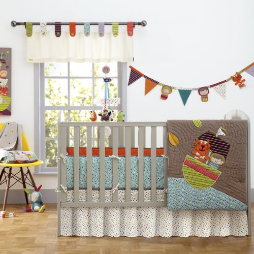 Mamas & Papas Timbuktales Baby Bedding Set (4-piece)