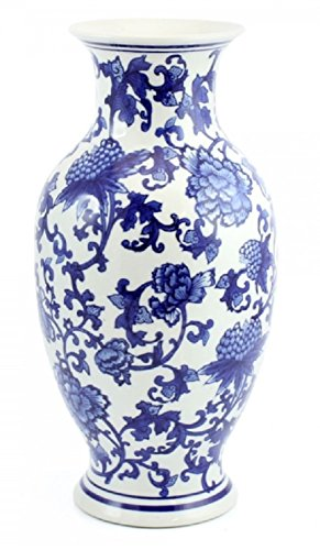 Chine bleu et blanc-Style-35,6cm Ming Vase-28350