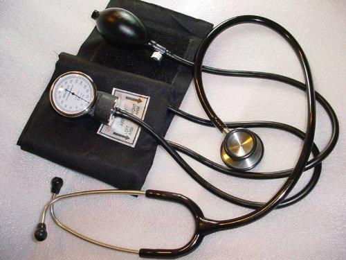Cheap Sphygmomanometer & Cardiology Stethoscope (B0043LXENM)