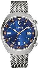 Comprar Bulova Accutron II-Chaqueta UHF Reloj de mujer con esfera analógica Azul Pantalla y Plata Pulsera de acero inoxidable 96B232