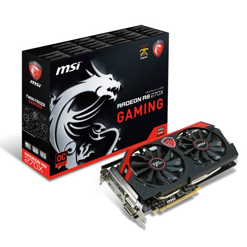 MSI R9 270X Gaming 4G PCIe Graphics Card (DDR5 Black Friday & Cyber Monday 2014