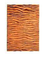 RugSense Alfombra Soft Nepal Naranja/Rojo 300 x 200 cm