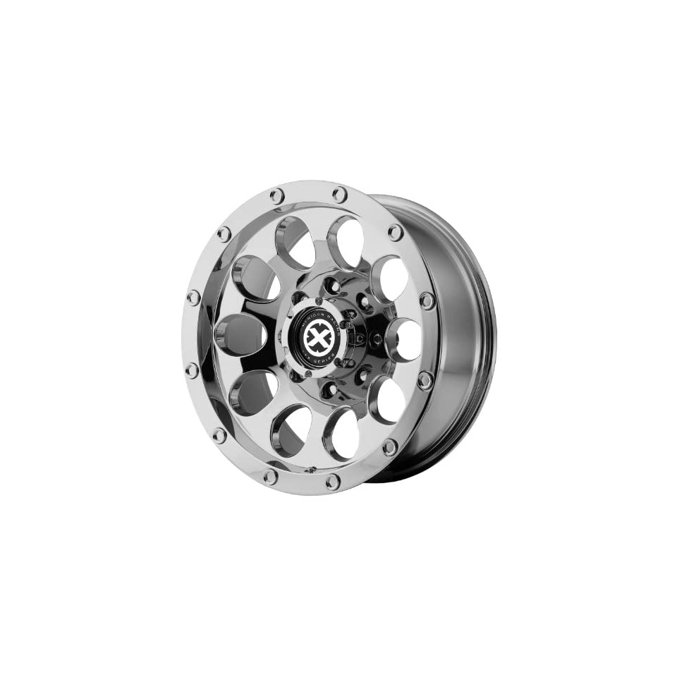 American Racing ATX Slot 15x8 Chrome Wheel / Rim 5x4.5 with a  19mm Offset and a 72.60 Hub Bore. Partnumber AX18658012219N