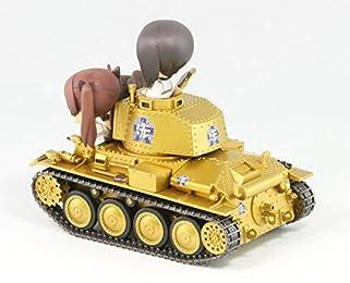 ガールズ&パンツァー 38t 戦車B/C型 エンディングVer.親善試合時 ノンスケール 全長約82mm 塗装済み完成品 PD21SP