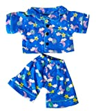 "Sunny Days Blue Pj's Fits Most 8"" - 10"" Inch Stuffed Animals and Dolls"