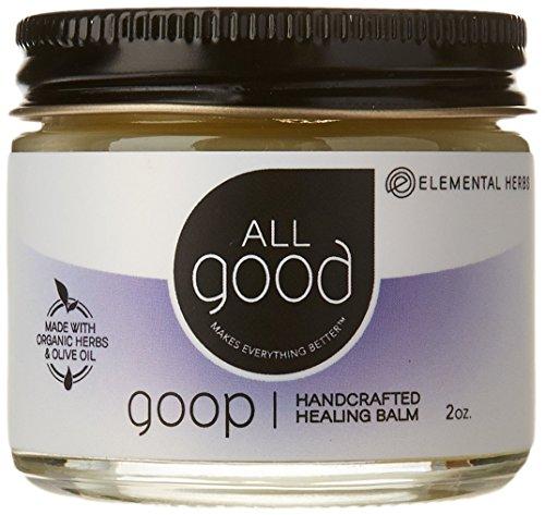 All Good Goop Organic Healing Balm, 2 Ounce Cera Bath