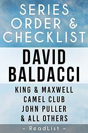 David Baldacci Series Order & Checklist: John Puller series, King and Maxwell series, Will Robie