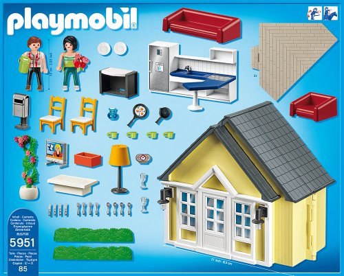 playmobil dollhouse playset import it all. Black Bedroom Furniture Sets. Home Design Ideas