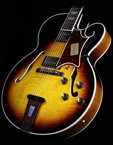 Gibson Custom Shop Hstfvsnh1 Hollow-Body Electric Guitar, Vintage Sunburst