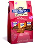 Ghirardelli Valentines Chocolate Squares,  Chcolate Assortment, 5.38-Ounce Package