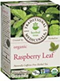 Traditional Medicinals Organic, Raspberry Leaf, 16-Count Boxes (Pack of 6)