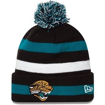 Jacksonville Jaguars New Era NFL Sport Cuffed Knit Hat by New Era