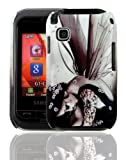PointH Samsung Champ C3300K Printed Hard Shell Stylish Back Protection Case Cover Clip On Protection - Fairy Angel Design