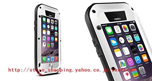 iPhone6ケース 4.7インチ 最強ケース 耐衝撃、防塵、防水  (白)