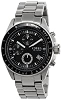 Fossil Decker Chronograph Analog Black Dial Men's Watch - CH2600