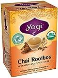 Yogi Chai Rooibos Tea, 16 Tea Bags (Pack of 6)