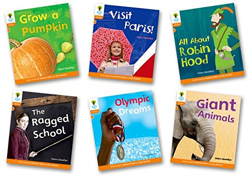 Oxford Reading Tree: Level 6: Floppy's Phonics Non-Fiction: Pack of 6