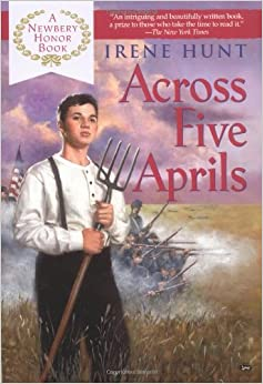 an analysis of irene hunts book across five aprils By irene hunt  literary devices in across five aprils  this book spans five  aprils and covers a huge chunk of jethro's young adolescence, so there's pretty.