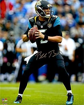 """Blake Bortles Jacksonville Jaguars Autographed 16"""" x 20"""" Dropback Pass Photograph - Fanatics Authentic Certified"""