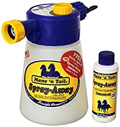STRAIGHT ARROW Mane \'N Tail Hose End Sprayer