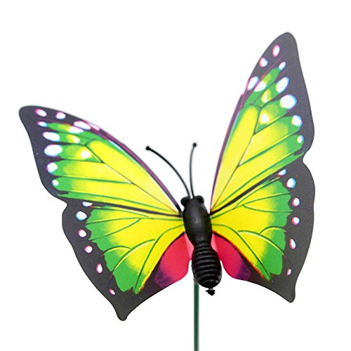Topix butterfly garden ornaments patio decor butterfly for Outdoor butterfly ornaments