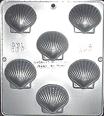 Chocolate Scallop Sea Shell Chocolate Candy Mold Candy Making 127