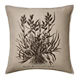Ikea Beige Brown Botanical Nature Throw Pillow Cover Cushion Sleeve Fjalljung 20 X 20""