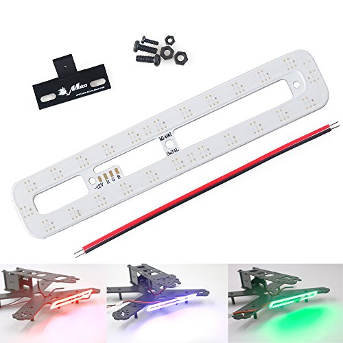 Crazepony-RGB-3-Color-RC-LED-Bar-Light-Taillights-Headlight-for-FPV-Racing-Quad-Drone