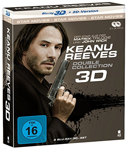 Keanu Reeves Double Collection [3D Blu-ray + 2D Version] (2 Disc-Set)
