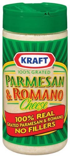 Kraft Grated Parmesan and Romano Cheese [Pack of 3] (Kraft Grated Romano Cheese compare prices)
