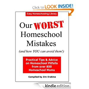 Our WORST Homeschool Mistakes (and how YOU can avoid them!) (Easy Homeschooling)