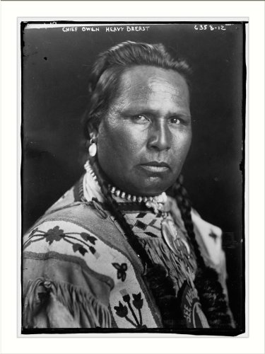 Newswire Photo (XL): Chief Owen Heavy Breast (American Indian)