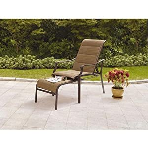 Amazon Com Outdoor Furniture Chaise Lounge Padded Chair