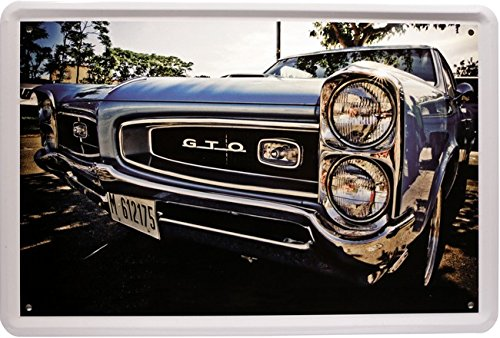 tin-sign-with-pontiac-gto-us-muscle-car-design-20-x-30-cm-retro-advertisement-1113